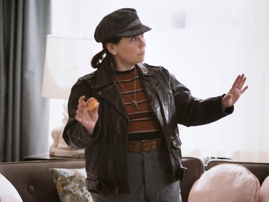 Alex Borstein as Susie Myerson on 'The Marvelous Mrs. Maisel.'