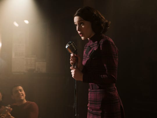 "Rachel Brosnahan earned a Golden Globe nod for her work as Midge Maisel in ""The Marvelous Mrs. Maisel."""