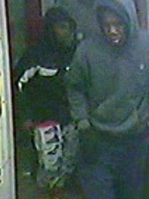 Detroit police are seeking two suspects in a Jan. 22 attempted carjacking.
