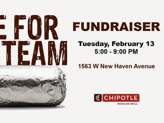 Chipotle fundraiser for FIT volleyball