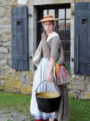 Eliza West, Head of Costume, Fort Ticonderoga.