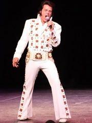 Tony Grova will be performing his Memories of Elvis