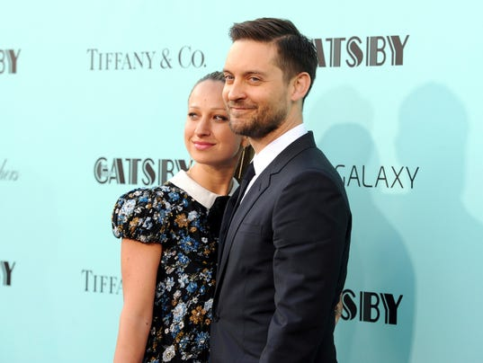 AP PEOPLE TOBEY MAGUIRE JENNIFER MEYER A ENT FILE USA NY