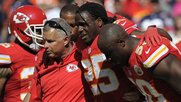 The loss of Jamaal Charles figures to have a lasting