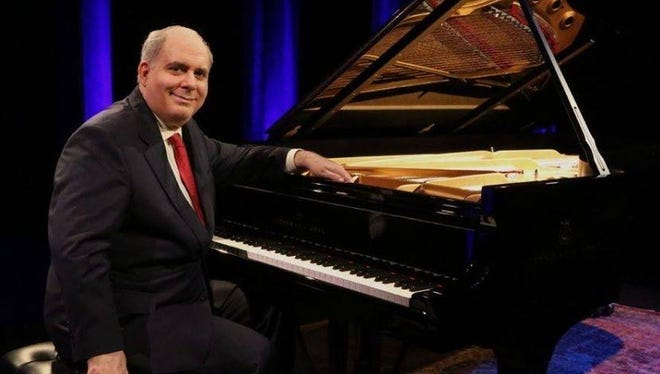 Richard Glazier blends recitals with fascinating stories of his life.