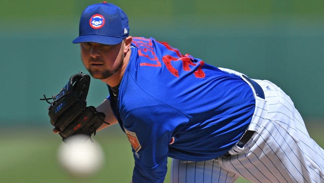 Jon Lester is scheduled to pitch the Cubs opener.