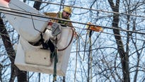 Tens of thousands of utility workers worked over the weekend to restore power to more than 1 million customers.
