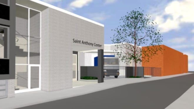 A conceptual drawing the new St. Antony Center in Over-the-Rhine. Seven non-profits focused on helping the homeless will be housed under one roof.