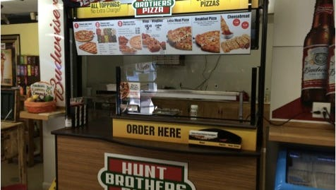 A new Hunt Brothers Pizza is now open inside Black Creek Quick Stop