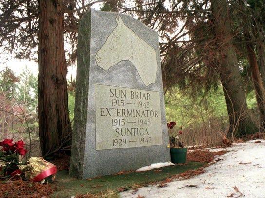 Whispering Pines Pet Cemetery in Binghamton is the