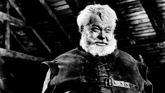 """Orson Welles is shown in his favorite role of all, Falstaff, in the 1966 production of  """"Chimes At Midnight,"""" also released as """"Falstaff,"""" 1965, in Spain."""