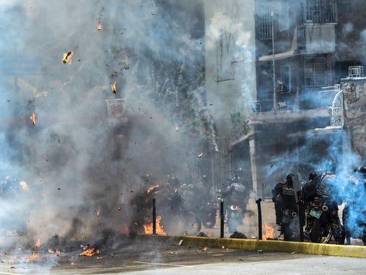 ***BESTPIX*** VENEZUELA-CRISIS-CONSTITUENT-ASSEMBLY-PROTEST