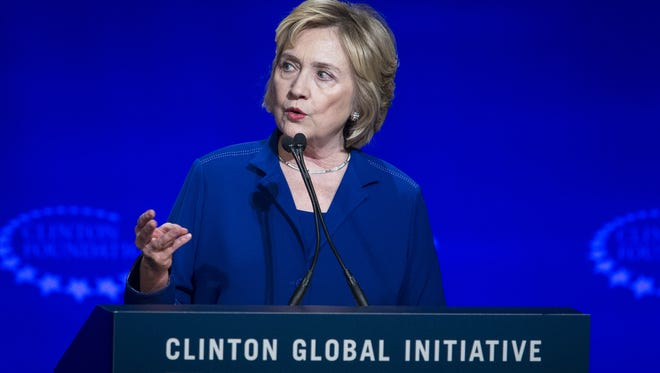Arizona State University gave $500,000 to the Clinton Foundation last year, money school officials say represents its investment in the Clinton Global Initiative University event it hosted in 2014.