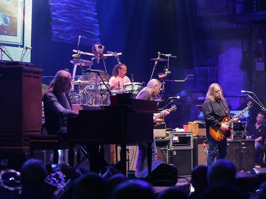 The Allman Brothers Band performs at The Beacon Theatre