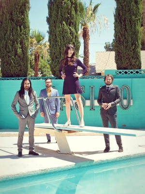 Indie-rockers Silversun Pickups will be joined by Cage the Elephant, Foals and Bear Hands during the Spring Fling Rock AF tour's stop at 7 p.m. March 16 at the Don Haskins Center on the University of Texas at El Paso campus.