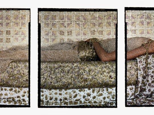 Lalla Essaydi, Bullets Revisited #3, 2012
