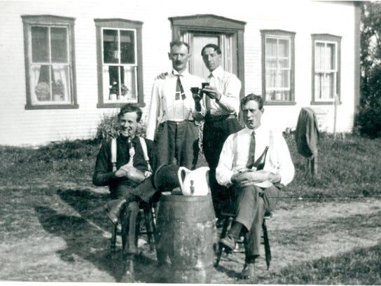 Cider Barrel Celebration 1914