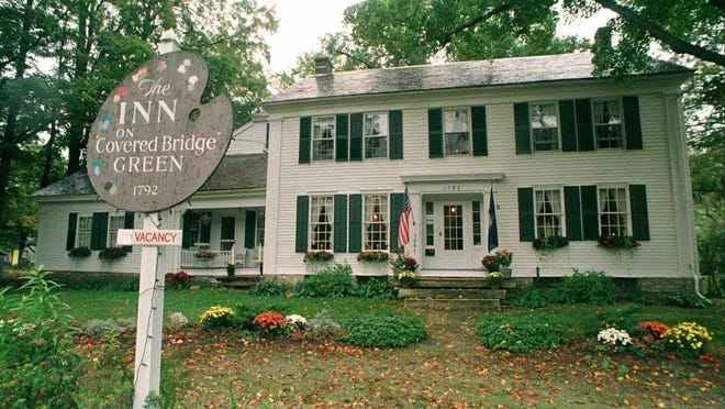 Norman Rockwell once lived in this home, which later became a bed and breakfast in Arlington.