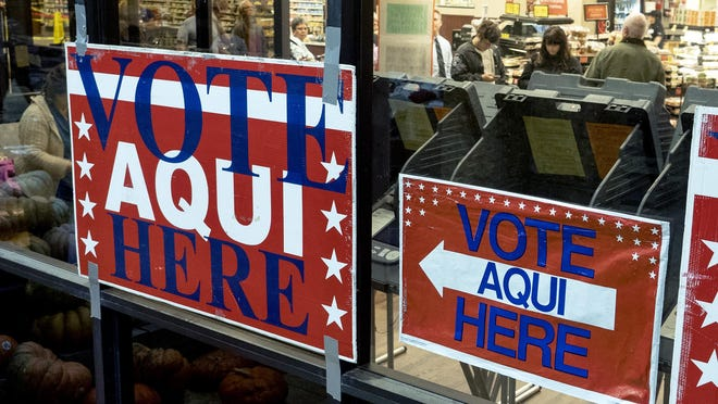 According to the Travis County clerk's office, a total of 31,946 people voted early in person on Monday.