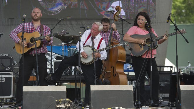 The Little Roy and the Lizzy Show, seen on stage at the 2019 Papa Joe's Banjo-B-Q Music Festival, will perform Oct. 24 for the Hephzibah Founders' Day program.