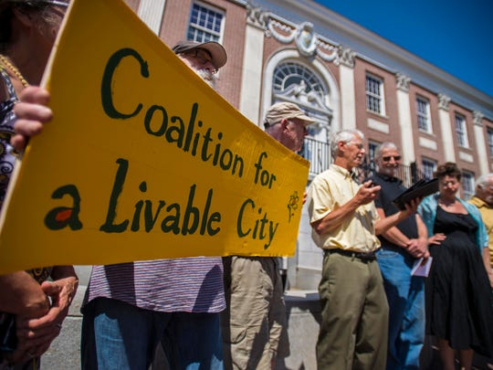 The Coalition for a Livable City, opponents of the