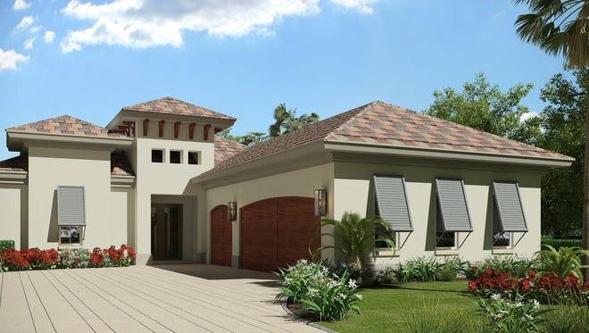 The Villa Adriana II model by Harbourside Custom Homes in Cassina.