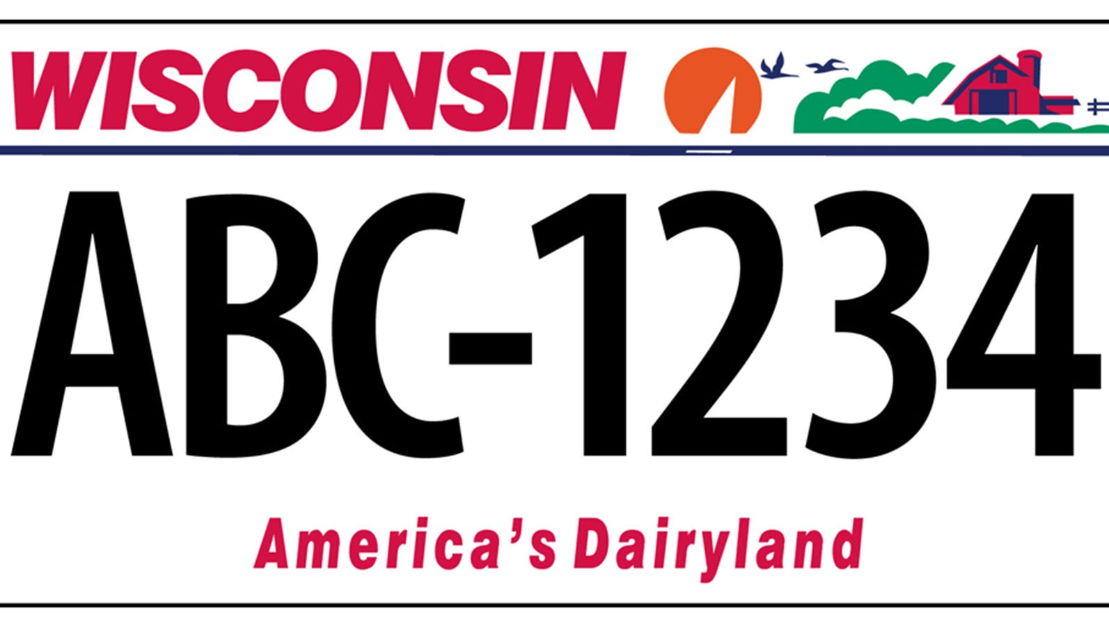 Wisconsin ATV License Plate  **BEST PLATE ON THE MARKET**  *Buy it now!*