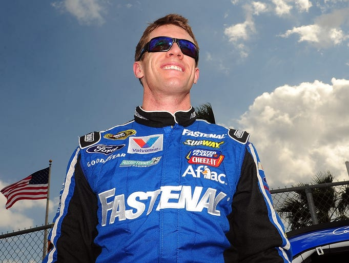 Carl Edwards, born Aug. 15, 1979 in Columbia, Mo., has been racing in the NASCAR Sprint Cup Series since 2004.