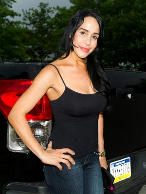 Nadya 'Octomom' Suleman, shown in June, is in the news again.