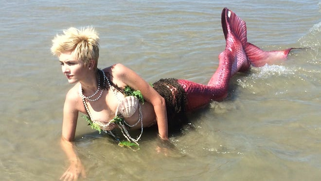 Mermaids join the mix this year. They'll be telling stories of the sea in the new Pirates Wharff area.