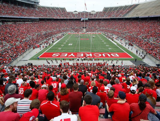 USP NCAA FOOTBALL: OHIO STATE SPRING GAME S FBC USA OH
