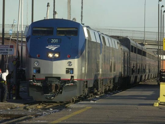 A woman who was raped by an Amtrak employee when she was a passenger is using the passenger train company.