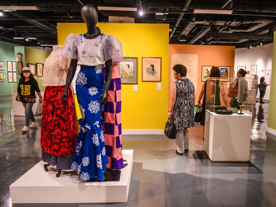 "Over 160 artworks, part of the ""Paul Jacoulet: Vision of Micronesia and Asia"" exhibition, are on display at the Guam Museum in Hagåtña on Friday, Nov. 10, 2017. The exhibition features a collection of pieces from the French artist and his impressions inspired by his travels through the Pacific and Asian regions. The exhibition is slated to run from Nov. 10, 2017 through Jan. 7, 2018."