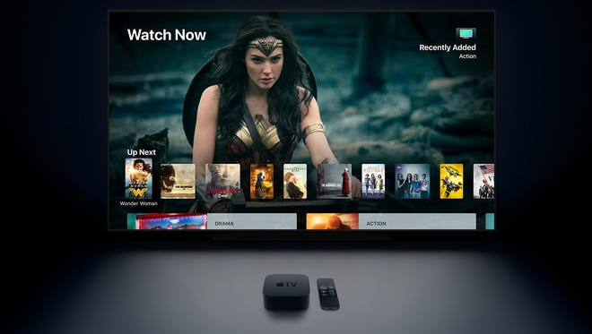 The new Apple TV 4K device ($179-$199) brings Ultra HD 4K video with high dynamic range (HDR) to the iTunes store and other apps.