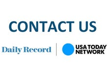 Daily Record: How to contact us