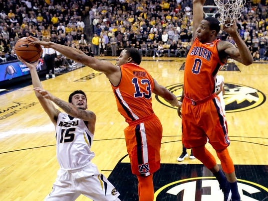 Auburn at Mizzou hoops