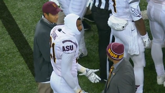 Jaelen Strong wanted to return to the game.