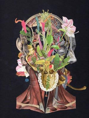 Post card art by Axelle Kieffer.