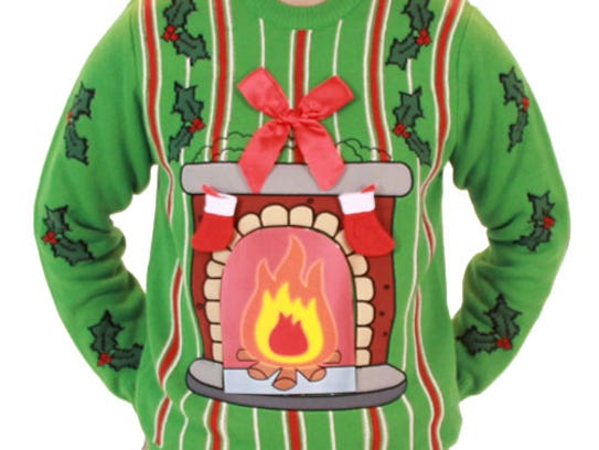This dandy from Commerce Twp.-based UglyChristmasSweater.com