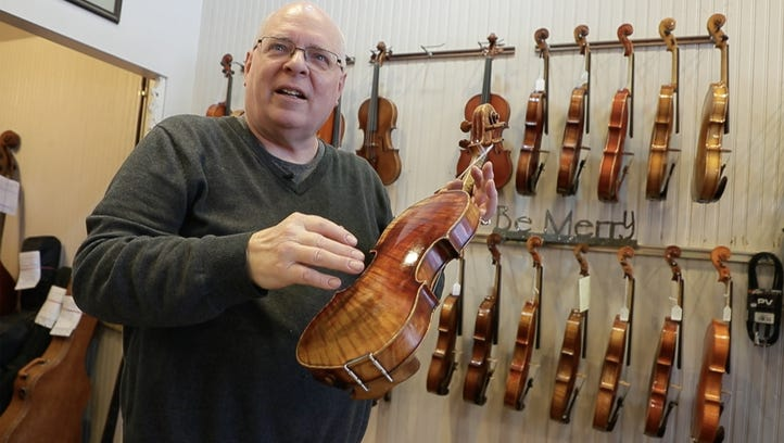 Your Stories: Meet luthier Larry Frye, whose gentle artistry keeps the music alive