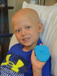 Landon Friedrickson passed away from neuroblastoma