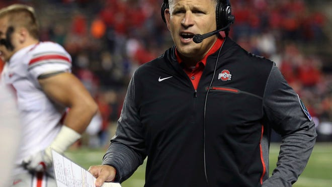 Ohio State associate head coach/defensive coordinator Greg Schiano.
