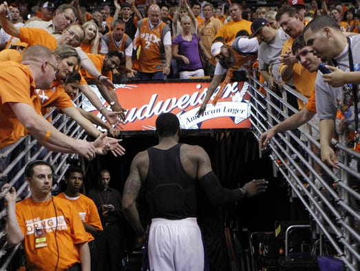 The Suns' Ring of Honor currently has 14 members. Does