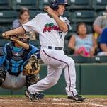 Fort Myers Miracle catcher Alex Swim ranks among the Florida State League's leaders in hits this season.