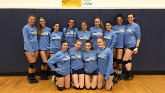 The Wayne Valley girls volleyball team earned the 2017 Big North Independence Division title.