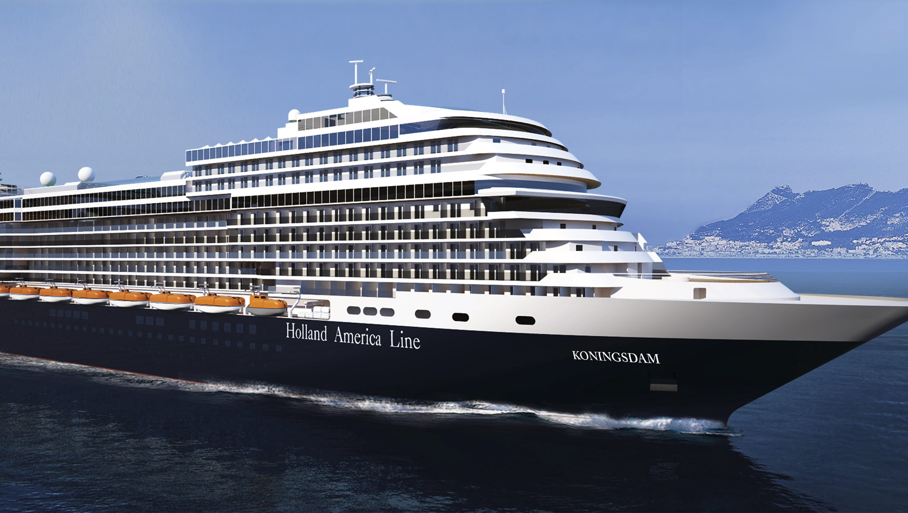 New Cruise Ships For 2016: Holland America's Koningsdam