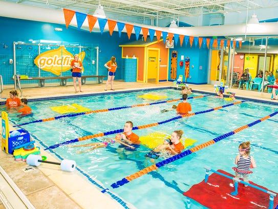 The Casper family own eight Goldfish Swim Schools throughout