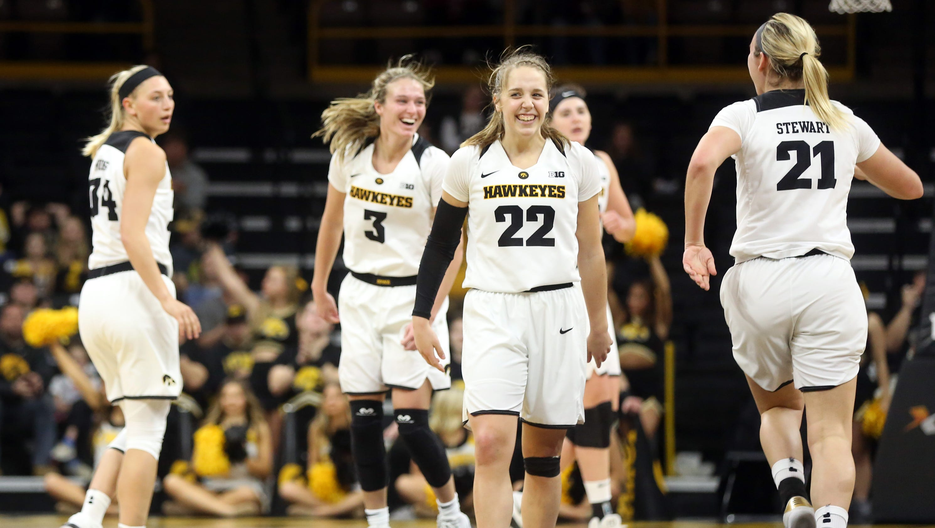 Iowa women's basketball heads to Indy confident, relaxed ...