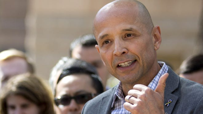 Democratic gubernatorial candidate and Army veteran David Garcia said the discussion over the future of l Immigration and Customs Enforcement is too large to be reduced to an argument over a single phrase.