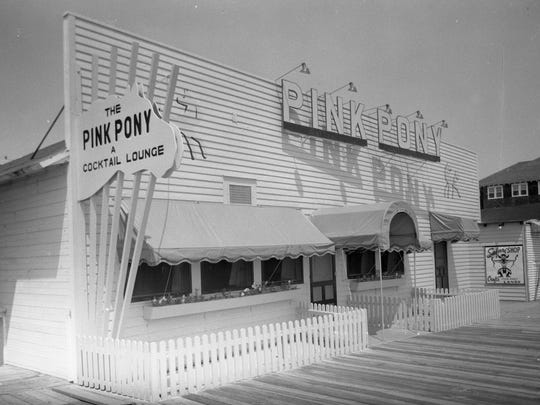 The Pink Pony was located on the Rehoboth Beach Boardwalk, which was destoryed in the Storm of '62.